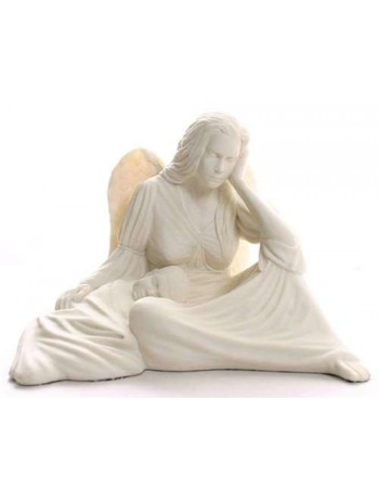 Seated Angel with Baby Statue Mythic Decor  Dragon Statues, Angels, Myths & Legend Statues & Home Decor