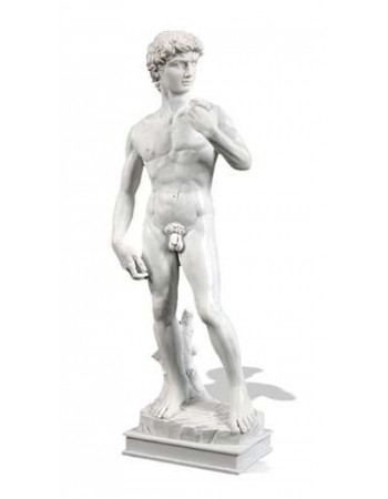 David by Michelangelo Museum Replica Statue Mythic Decor  Dragon Statues, Angels, Myths & Legend Statues & Home Decor
