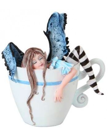 I Need Coffee Fairy Statue Mythic Decor  Dragon Statues, Angels, Myths & Legend Statues & Home Decor