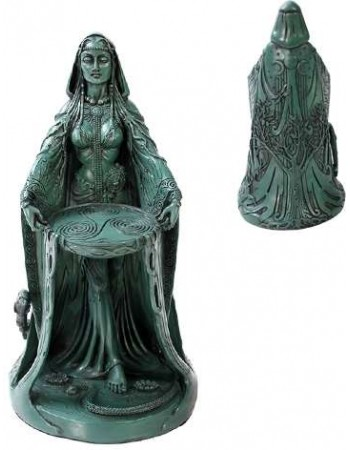 Danu Celtic Goddess Resin Statue Mythic Decor  Dragon Statues, Angels, Myths & Legend Statues & Home Decor
