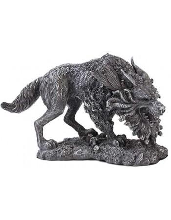 Fenrir Werewolf Statue Mythic Decor  Dragon Statues, Angels, Myths & Legend Statues & Home Decor