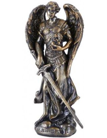 Archangel Jehudiel Small Bronze Christian Statue Mythic Decor  Dragon Statues, Angels, Myths & Legend Statues & Home Decor