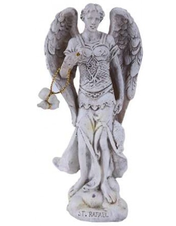 Archangel Raphael Small Christian Statue Mythic Decor  Dragon Statues, Angels, Myths & Legend Statues & Home Decor