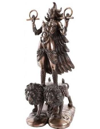 Ishtar Babylonian War Goddess Statue Mythic Decor  Dragon Statues, Angels, Myths & Legend Statues & Home Decor