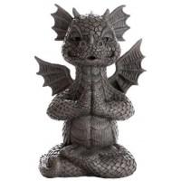 Garden Dragon Yoga Statue
