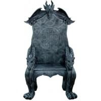 Celtic Dragon Throne Medieval Chair