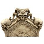 Skull Throne Gothic Chair at Mythic Decor,  Dragon Statues, Angels, Myths & Legend Statues & Home Decor