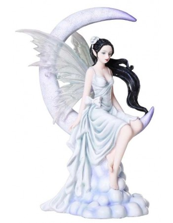 Frost Moon Fairy Statue Mythic Decor  Dragon Statues, Angels, Myths & Legend Statues & Home Decor