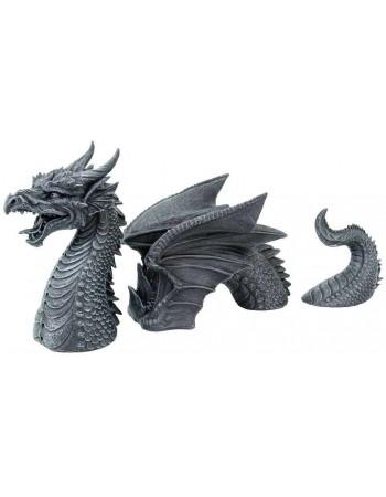 Dragon of a Fallen Castle Moat Statue Mythic Decor  Dragon Statues, Angels, Myths & Legend Statues & Home Decor