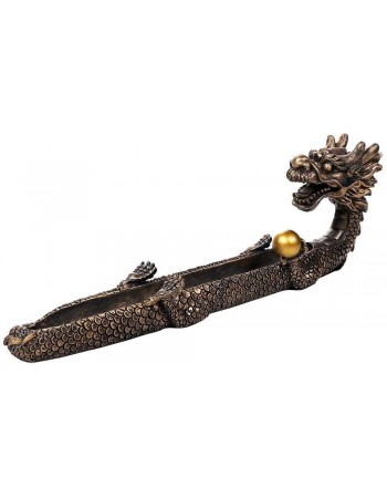 Oriental Dragon Feng Shui Incense Boat Burner Mythic Decor  Dragon Statues, Angels, Myths & Legend Statues & Home Decor