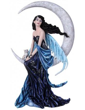 Indigo Moon Fairy Statue Mythic Decor  Dragon Statues, Angels, Myths & Legend Statues & Home Decor