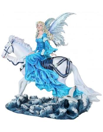 Euphoria Fairy Statue Mythic Decor  Dragon Statues, Angels, Myths & Legend Statues & Home Decor