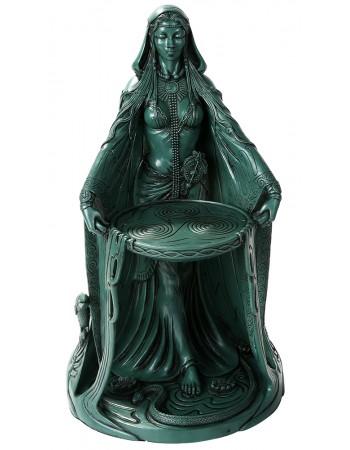 Danu Celtic Goddess Resin 16 Inch Statue Mythic Decor  Dragon Statues, Angels, Myths & Legend Statues & Home Decor