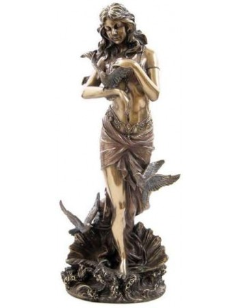 Aphrodite with Doves Greek Goddess of Love Statue Mythic Decor  Dragon Statues, Angels, Myths & Legend Statues & Home Decor