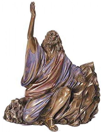 Cry of Jesus Christian Statue Mythic Decor  Dragon Statues, Angels, Myths & Legend Statues & Home Decor