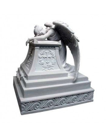 Mourning Angel Memorial Urn Mythic Decor  Dragon Statues, Angels, Myths & Legend Statues & Home Decor