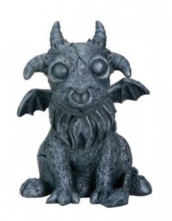 Baby Goat Gargoyle Figurine Mythic Decor  Dragon Statues, Angels, Myths & Legend Statues & Home Decor