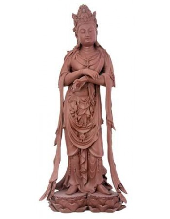 Yixing Kuan Yin Statue Mythic Decor  Dragon Statues, Angels, Myths & Legend Statues & Home Decor