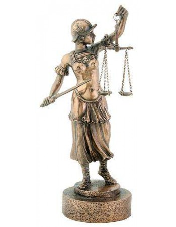 Lady Justice with Scales Warrior Bronze Statue Mythic Decor  Dragon Statues, Angels, Myths & Legend Statues & Home Decor