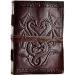 Double Dragon Leather Journal at Mythic Decor,  Dragon Statues, Angels, Myths & Legend Statues & Home Decor
