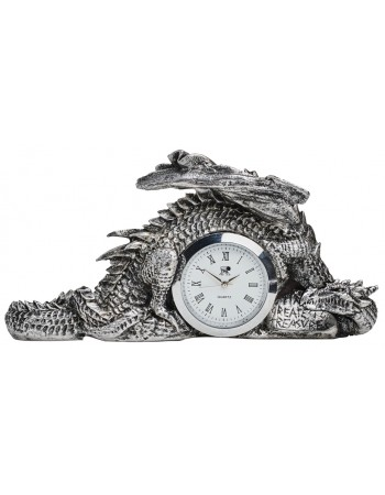 Dragonlore Desk Clock Mythic Decor  Dragon Statues, Angels, Myths & Legend Statues & Home Decor