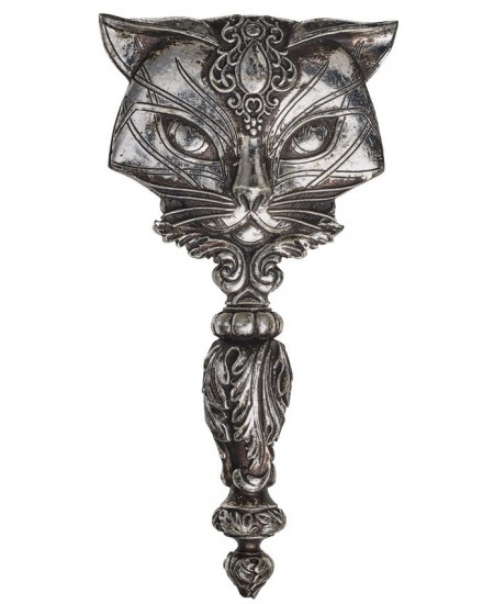 Sacred Cat Hand Mirror at Mythic Decor,  Dragon Statues, Angels, Myths & Legend Statues & Home Decor