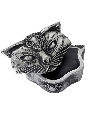 Sacred Cat Trinket Box Mythic Decor  Dragon Statues, Angels, Myths & Legend Statues & Home Decor