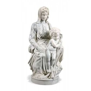 Madonna of Bruges by Michelangelo Museum Replica Statue Mythic Decor  Dragon Statues, Angels & Demons, Myths & Legends |Statues & Home Decor