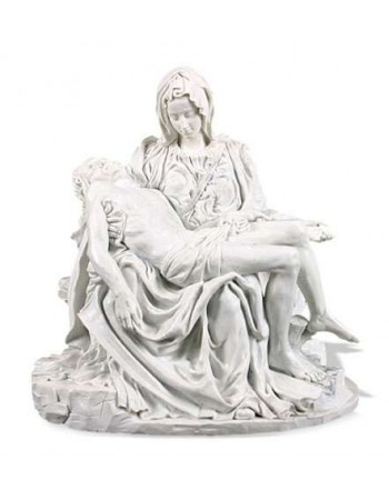 Pieta by Michelangelo Museum Replica Statue Mythic Decor  Dragon Statues, Angels, Myths & Legend Statues & Home Decor