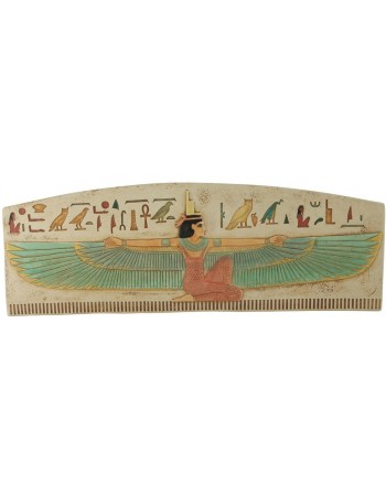 Winged Isis The Protector Wall Relief Mythic Decor  Dragon Statues, Angels & Demons, Myths & Legends  Statues & Home Decor