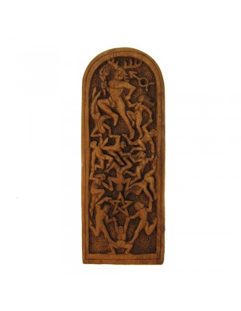Lord of the Dance Pagan God Plaque by Paul Borda