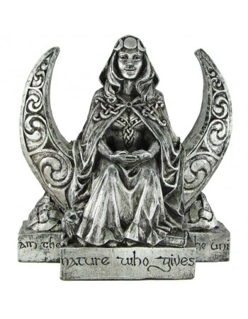 Moon Goddess Pagan Altar Statue Mythic Decor  Dragon Statues, Angels, Myths & Legend Statues & Home Decor