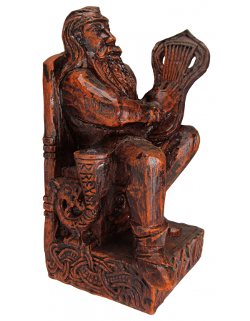 Bragi Norse God of Poetry Statue
