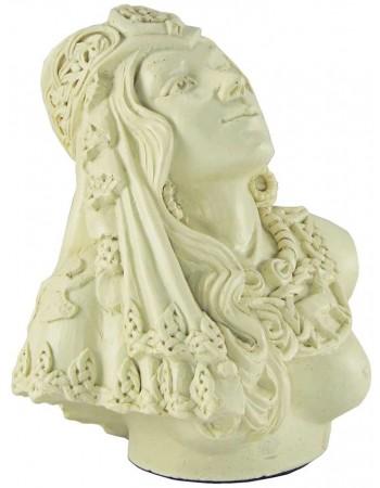 Rhiannon Celtic Goddess Bone Finish Statue Mythic Decor  Dragon Statues, Angels, Myths & Legend Statues & Home Decor