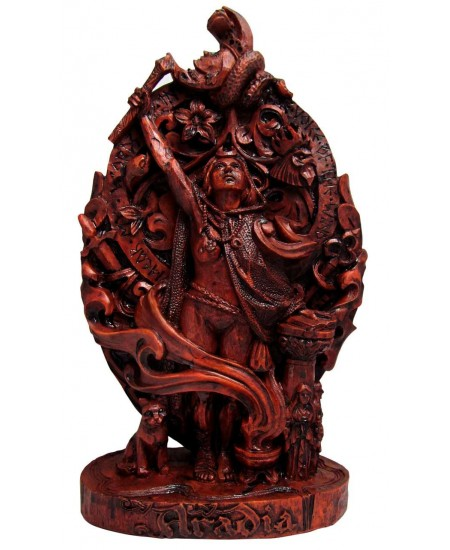 Aradia, Queen of the Witches, Statue at Mythic Decor,  Dragon Statues, Angels, Myths & Legend Statues & Home Decor