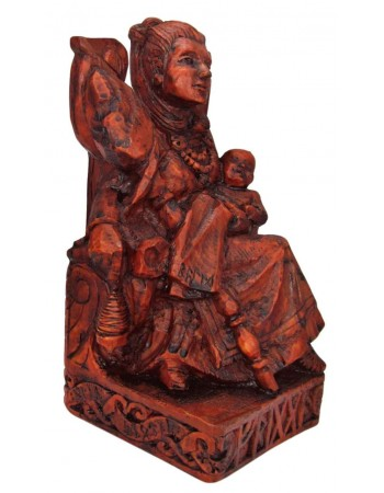 Frigga, Norse Queen of the Gods, Seated Statue Mythic Decor  Dragon Statues, Angels, Myths & Legend Statues & Home Decor