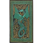Celtic English Dragon Tapestry - Twin Size Green at Mythic Decor,  Dragon Statues, Angels & Demons, Myths & Legends |Statues & Home Decor
