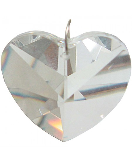 Crystal Prism Faceted Heart at Mythic Decor,  Dragon Statues, Angels & Demons, Myths & Legends |Statues & Home Decor