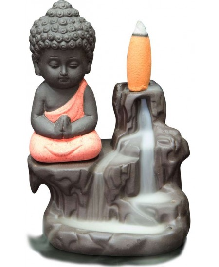 Buddha Waterfall Backflow Incense Burner at Mythic Decor,  Dragon Statues, Angels & Demons, Myths & Legends |Statues & Home Decor