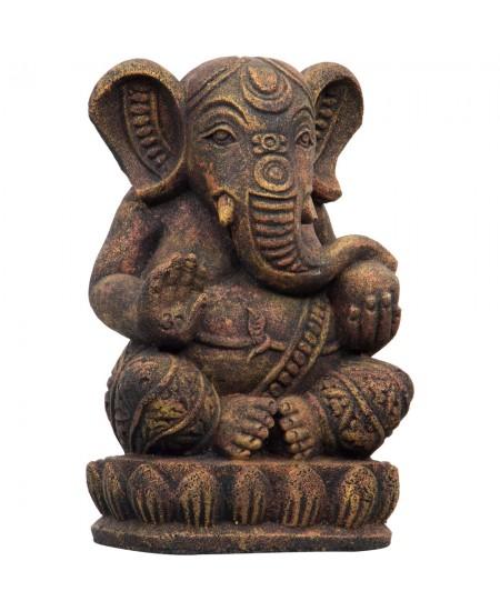 Ganesha Statue in Volcanic Stone