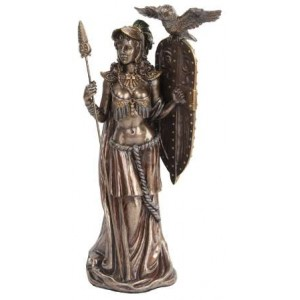 Athena Standing with Shield Greek Bronze Statue Mythic Decor  Dragon Statues, Angels & Demons, Myths & Legends |Statues & Home Decor