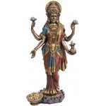 Lakshmi, HIndu Goddess of Wealth Statue at Mythic Decor,  Dragon Statues, Angels, Myths & Legend Statues & Home Decor