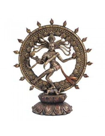 Shiva Nataraja Lord of Dancers Hindu Bronze 9 Inch Statue Mythic Decor  Dragon Statues, Angels & Demons, Myths & Legends |Statues & Home Decor