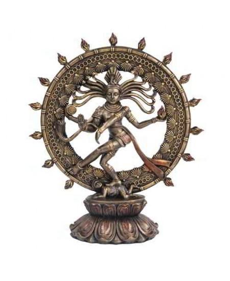 Shiva Nataraja Lord of Dancers Hindu Bronze 9 Inch Statue at Mythic Decor,  Dragon Statues, Angels, Myths & Legend Statues & Home Decor