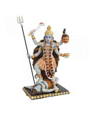 Kali Hindu Goddess of Destruction Statue Mythic Decor  Dragon Statues, Angels, Myths & Legend Statues & Home Decor