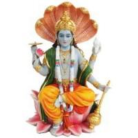 Vishnu Hindu God Statue