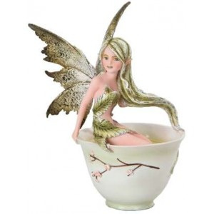 Green Tea Fairy by Amy Brown Mythic Decor  Dragon Statues, Angels & Demons, Myths & Legends |Statues & Home Decor