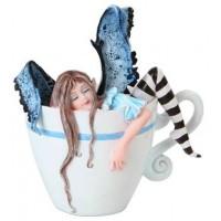 I Need Coffee Fairy Statue