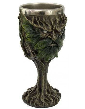 Greenman, Lord of the Forest Wiccan Altar Chalice Mythic Decor  Dragon Statues, Angels, Myths & Legend Statues & Home Decor