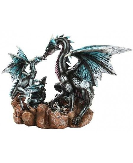 Dragon Family Statue at Mythic Decor,  Dragon Statues, Angels, Myths & Legend Statues & Home Decor